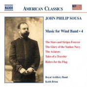 Keith Brion: Sousa, J.P.: Music for Wind Band, Vol.  4 - CD