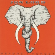 Jon Lord: Before I Forget - CD