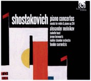 Alexander Melnikov, Isabelle Faust, Mahler Chamber Orchestra, Teodor Currentzis: Shostakovich: Piano Concertos nos.1 & 2 - CD