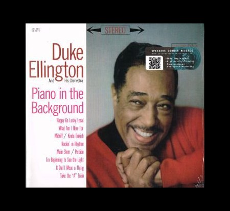 Duke Ellington, Duke Ellington Orchestra: Piano in the Background - Plak