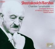 Orchestra Sinfonica di Milano Giuseppe Verdi, Rudolf Barshai: Shostakovich & Barshai: Chamber Symphonies 1-5 - CD