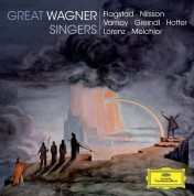 Astrid Varnay, Birgit Nilsson, Hans Hotter, Josef Greindl, Kirsten Flagstad, Lauritz Melchior, Siegfried Lorenz: Great Wagner Singers - CD