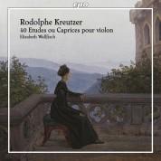 Elizabeth Wallfisch: Kreutzer: 40 Etudes ou Caprices pour violon - CD
