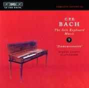 Miklós Spányi: C.P.E. Bach: Solo Keyboard Music, Vol. 9 - CD