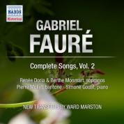 Renee Doria: Faure: Complete Songs, Vol. 2 - CD