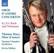 Thomas Stacy: Bach, J.S.: Oboe D'Amore Concertos, Bwv 1053, 1055 / Telemann: Oboe D'Amore Concertos, Twv 51:G3, 51:A2 - CD
