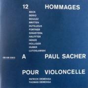 Patrick Demenga, Thomas Demenga: 12 Hommages a Paul Sacher pour Violoncelle - CD