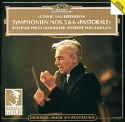 Berliner Philharmoniker, Herbert von Karajan: Beethoven: Symphonien 5+6 - CD