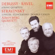 Alban Berg Quartett: Ravel/ Debussy: String Quartets; Stravinsky: 3 Pieces, Concertino, Double Canon - CD