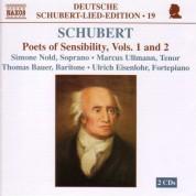 Çeşitli Sanatçılar: Schubert: Lied Edition 19 - Poets of Sensibility, Vols. 1 and 2 - CD
