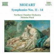 Mozart: Symphonies Nos. 11 - 14 - CD
