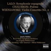 Jascha Heifetz: Lalo: Symphonie espagnole - Chausson: Poeme (1951-1954) - CD