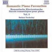 Balázs Szokolay: Romantic Piano Favourites, Vol.  3 - CD