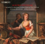 Mikael Helasvuo, Jukka Savijoki: Giuliani: Complete Original Works for Flute and Guitar (3/2) - CD