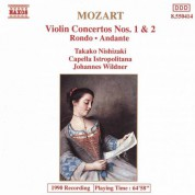 Takako Nishizaki: Mozart: Violin Concertos Nos. 1 and 2 - CD
