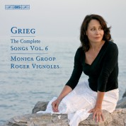 Monica Groop, Roger Vignoles: Grieg: Songs, Volume 6 - CD