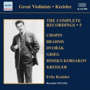 Fritz Kreisler: Kreisler: Complete Recordings, Vol. 5 (1919-1924) - CD