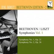 İdil Biret: Beethoven, L. Van: Symphonies (Arr. F. Liszt for Piano), Vol. 1 (Biret) - Nos. 1, 2 - CD