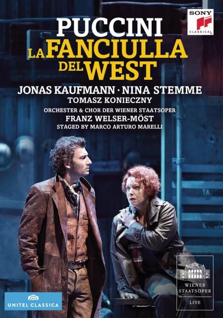 Jonas Kaufmann, Nina Stemma, Tomasz Konieczny, The Metropolitan Opera Orchestra, Chorus and Ballet: Puccini: La Fanciulla Del West - DVD