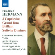 Friedemann Eichhorn: Hermann: 3 Capriccios - Grand Duo Brillant - Suite in D minor - CD
