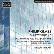 Nicolas Horvath: Glass: Glassworlds 1 - CD