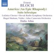 Bloch: America / Suite Hebraique - CD