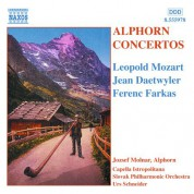 Alphorn Concertos - CD