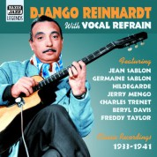Reinhardt, Django: With Vocals (1933-1941) - CD