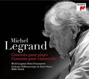 Michel Legrand, Henri Demarquette: Legrand: Concerto Pour Piano / Concerto Pour Violoncelle - Plak