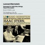 Isaac Stern, Symphony of the Air, Leonard Bernstein: Bernstein: Serenade Vor Violin Solo, Strings, Harp & Percussion + 12 Bonus Tracks - CD