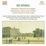 Hummel: Bassoon Concerto / Clarinet Quartet - CD