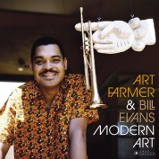 Art Farmer, Bill Evans: Modern Art  (Deluxe Gatefold Edition. Photographs By William Claxton). - Plak