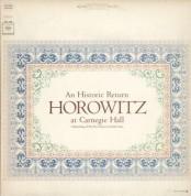 Vladimir Horowitz - Horowitz At Carnegie Hall - Plak