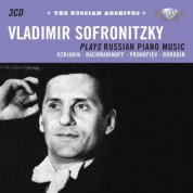 Vladimir Sofronitzky: Russian Piano Music - CD
