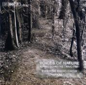Swedish Radio Choir, Tõnu Kaljuste, Jonny Rönnlund: Schnittke/ Pärt: Voices of Nature - choir music - CD