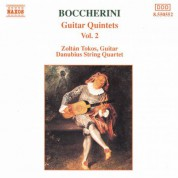 Zoltan Tokos: Boccherini: Guitar Quintets, Vol.  2 - CD