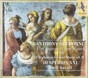 Hespèrion XXI, Jordi Savall: Anthony Holborne: The teares of the Muses 1599, Elizabethan Consort Music vol. II - CD
