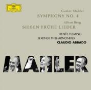 Berliner Philharmoniker, Claudio Abbado, Renée Fleming: Mahler: Symphonie No. 4 + Berg - CD