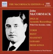 Mccormack, John: Mccormack Edition, Vol. 4: The Acoustic Recordings (1913-1914) - CD