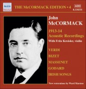 Mccormack, John: Mccormack Edition, Vol. 4: The Acoustic Recordings (1913-1914) - CD