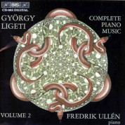 Fredrik Ullen: Ligeti - The Complete Piano Music, Vol.2 - CD