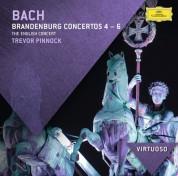 Trevor Pinnock, The English Concert: Bach, J.S.: Brandenburg Concertos Nos.4 - 6 - CD
