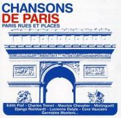 Çeşitli Sanatçılar: Chansons De Paris - Rues Et Places - CD