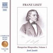 Jeno Jando: Liszt: Hungarian Rhapsodies, Vol. 1 - CD