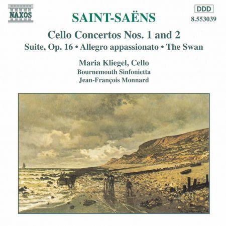 Maria Kliegel: Saint-Saens: Cello Concertos Nos. 1 and 2 / Suite, Op. 16 - CD