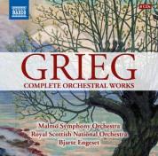 Bjarte Engeset: Grieg: Complete Orchestral Works - CD