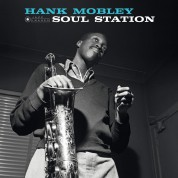 Hank Mobley: Soul Station (Images By Iconic Photographer Francis Wolff) - Plak