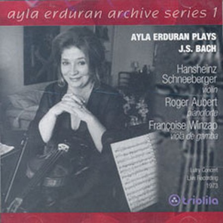 Ayla Erduran: Bach: Trio Sonata, Partita No:2 (Archive Series 1) - CD
