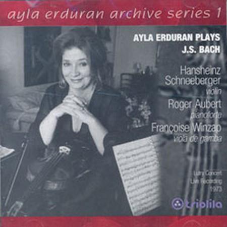Ayla Erduran: Bach: Trio Sonata, Partita No:2 (Archive Series 1) - CD