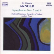 Arnold, M.: Symphonies Nos. 5 and 6 - CD